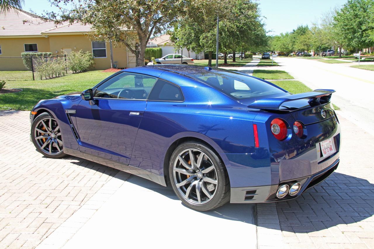 2012 Nissan Gt R Blue Premium For Sale 13k Miles