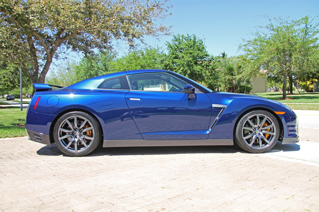 2012 nissan gt r blue premium for sale 13k miles archive the ford gt forum
