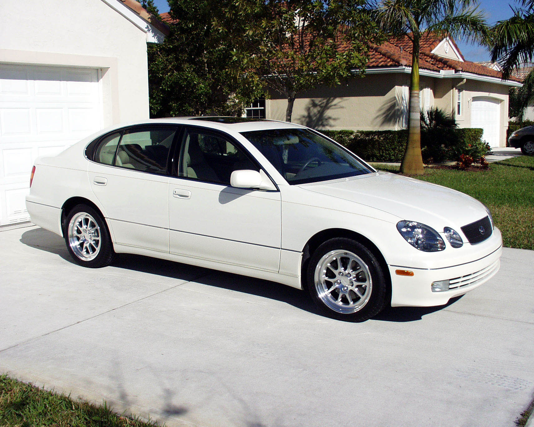 1999 lexus gs400 with fikse mach v wheels brooks 39 viper. Black Bedroom Furniture Sets. Home Design Ideas